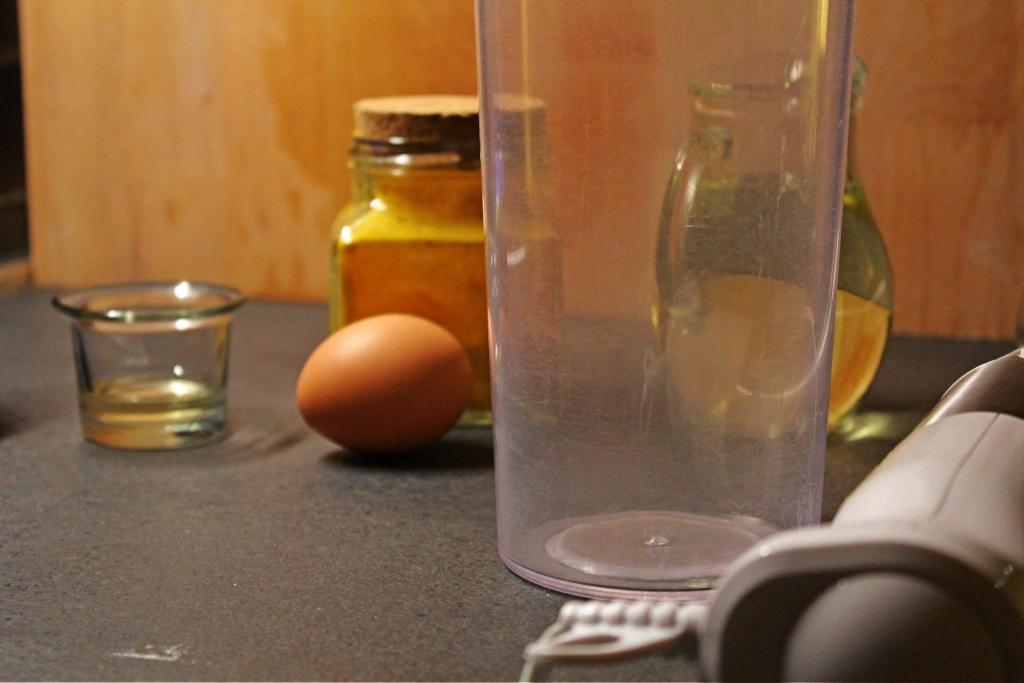 maionese ingredienti uova aceto olio